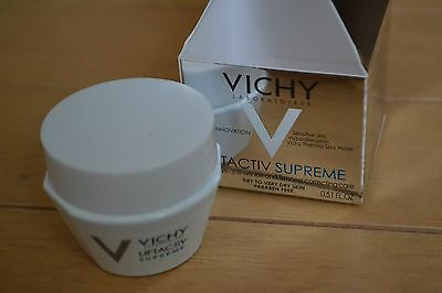 Vichy Liftactiv Supreme anti-ageing cream for dry skin travel size 15ml