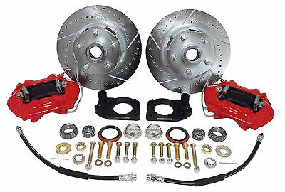 1964-67 Ford Mustang Front Disc Brake Conversion Kit - Deluxe Kit