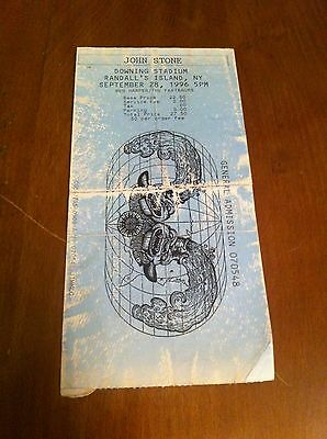 John Stone Downing Stadium Randall's Island 1996 Ben Harper/The Fastbacks Ticket
