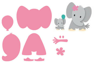 Marianne Design Eline's Elephant Collectables Cutting Die Set COL1384