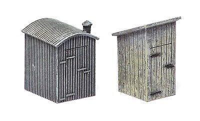Hornby Lineside Lamp Huts (2 Pack) R9783