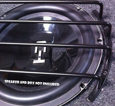 10 Inch Speaker Grill BLACK Sub Woofer Bar Grille Covers Guard