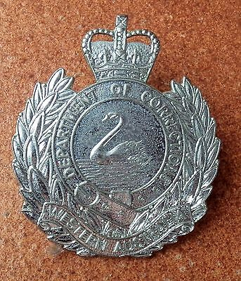 OBSOLETE WESTERN AUSTRALIA DEPARTMENT OF CORRECT BADGE by AJ PARKES POLICE