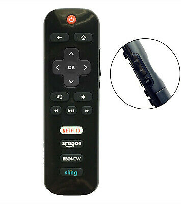 New USBRMT Replacement TCL ROKU TV Remote RC280-02 HBONOW 50FS3750 55FS3700