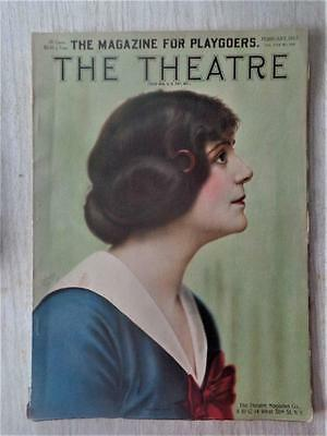 Antique Feb 1913 The Theatre Magazine for Playgoers Lozier Rauch Lang White Cars