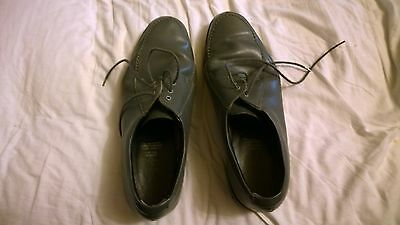 Mens Lawn Bowling Shoes -Leather Upper - Made In England - 33Cm Long