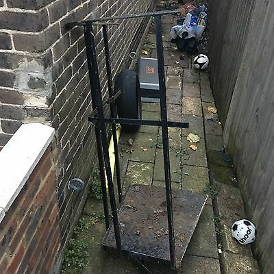 Cast Iron Spiral Staircase with Landing Plate & Balcony Rails - Stairs 13 Steps