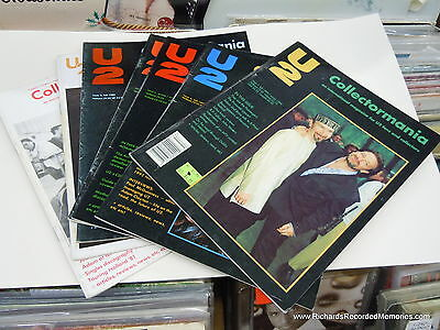 U2- Collectormania- an international magazine for U2 fans and collectors. ALL 7!
