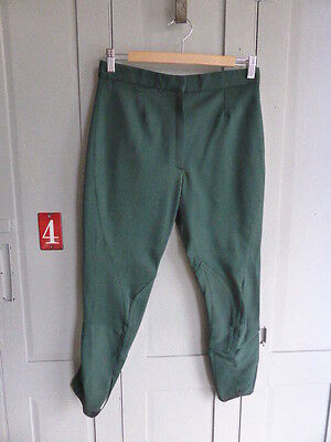 Vintage green jodhpurs riding breeches size S