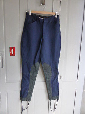 Vintage Golding navy blue jodhpurs riding breeches size S