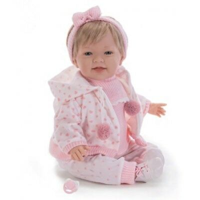 Child Friendly Ce Tested New Reborn Realistic Newborn Doll Blue Eyed Baby Girl