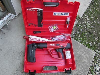 HIlti DX 460  MX 72 & F-8  powder actuated  direct fastening KIT  NEW  (646)