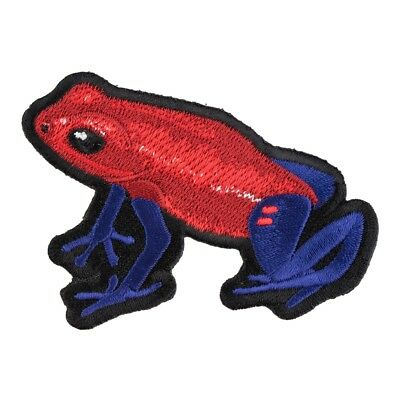 Red & Blue Poison Arrow Frog Patch, Exotic Frog Patches