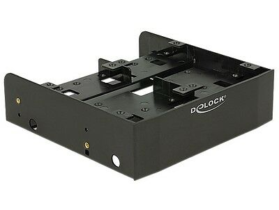 Delock 5.25″ Installation Frame for 1 x 3.5″ + 2 x 2.5″ or 6 x 2.5″ hard drives