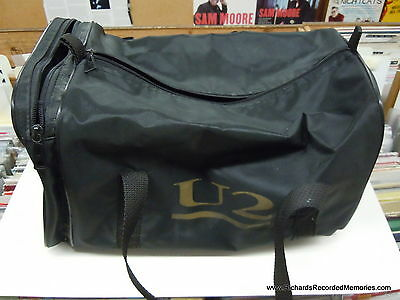 U2 Joshua Tree UK Promotional Duffle/Gym Bag Large Mega RARE! 1987 Island Promo!