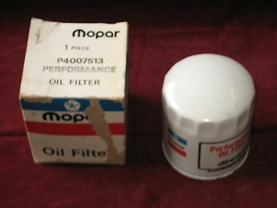 NOS Mopar Red White and Blue Oil Filter Direct Connection Performance