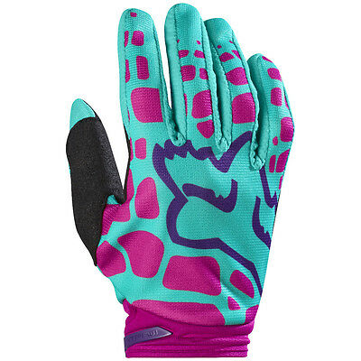 2017 Fox MX Womens Dirtpaw Race Gloves - Purple/Pink Motocross Offroad Trail End