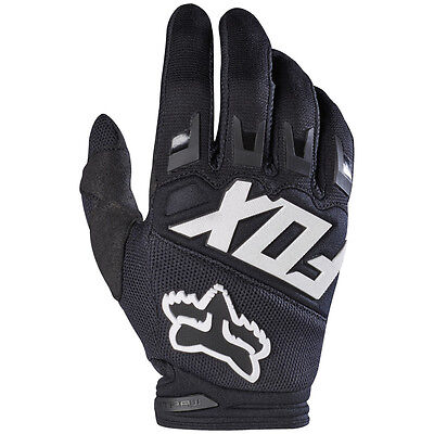 2017 Fox MX Youth Dirtpaw Race Gloves - Black Motocross Offroad Trail Enduro