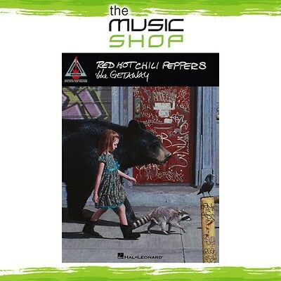 New Red Hot Chili Peppers 'The Getaway' Guitar Tab Recorded Versions Music Book