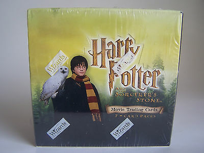 Harry Potter & the Sorcerer's Stone - Sealed Trading Card Box - 2001