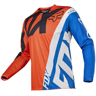 2017 Fox MX Mens 360 Jersey - Creo Orange Motocross Offroad Trail Enduro