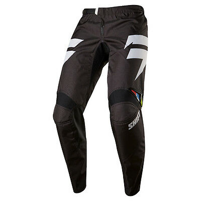 2017 Shift MX Mens WHIT3 Ninety-Seven Pants - Black Motocross Offroad Trail Endu