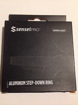 Sensei Pro 46-37mm Aluminum Step Down Ring SDRPA-4637