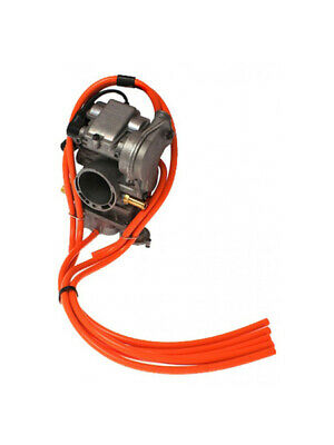 4Mx Racing - Colored Carburetor Vent Hose 4 Stroke Orange       Ktm