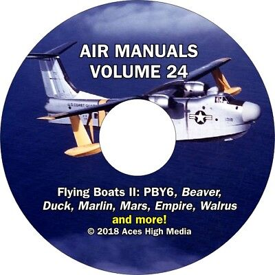 Flying Boats and Seaplanes II Flight Manuals on CD