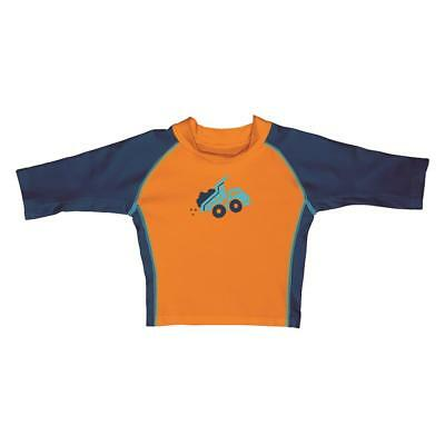i play Jungen Kinder Schwimmshirt Kipper orange
