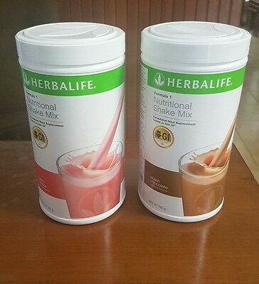 Herbalife  x 2 of F1 Weight Management Nutritional Meal Replace Shake
