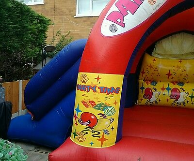 17 x 15 Commercial Bouncy Castle with Side Slide