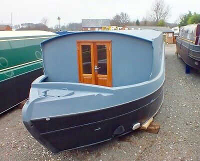 60' x 12' Widebeam Canal Boat Sailaway Euro Cruiser