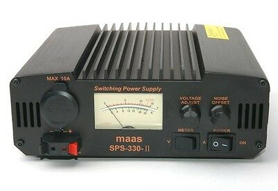 Maas Sps 330 11 30 Amp Power Supply Psu Cb Ham Radio