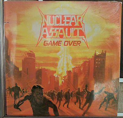 Nuclear Assault – Game Over lp Us Issue NM 1986 Different Combat labels