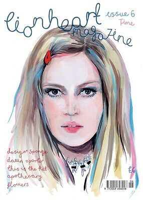 Lionheart Magazine issue 6 - The Time Issue - Grace Bonney, Dawn O'Porter - NEW!
