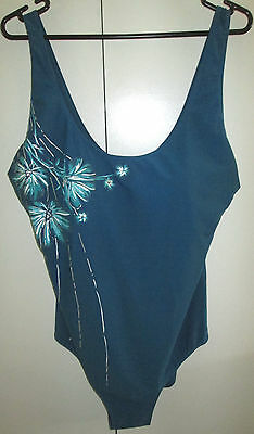 Ladies Millers One Piece Size 20 Padded Bust Stylish Swim Suit Swimmers Bathers