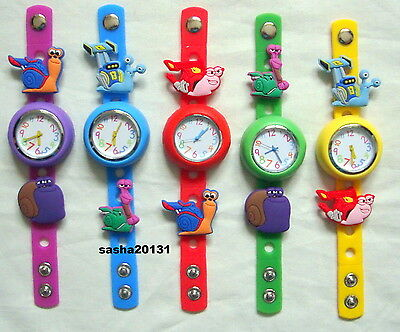 Turbo  Jibbitz Band Watch  & A Set Of 5 Charms, Brand New