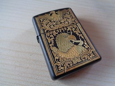 Zippo Lighter Vintage Serie Toledo Nr. 522 Majestic Eagle New
