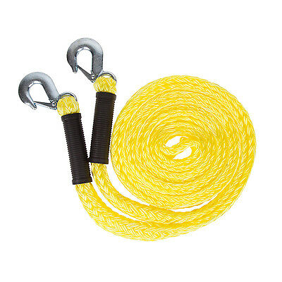 Heavy Duty Grab Hooks Snatch Strap Tow Rope Towing Pull Offroad Recovery New