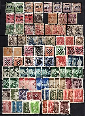 SERBIA SERBIEN EXCELLENT USED AND MINT STAMPS VERY OLD EX Yugoslavia