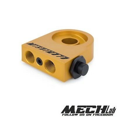 PLATE OIL FILTER MISHIMOTO sandwich adapter radiator MOCAL thermostatic