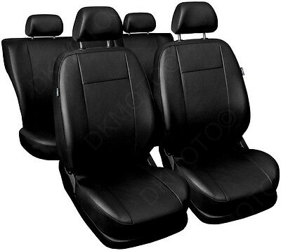 CAR SEAT COVERS full set fits Vauxhall Astra Universal Leatherette Black