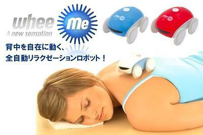 New Relaxation Robot Wheeme Blue Massage from Japan Blue & White