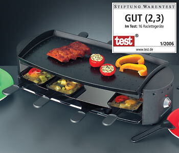 Rommelsbacher Ottimo Rc Piastra Gourmet Per Raclette 1200 W -  Rc 1200