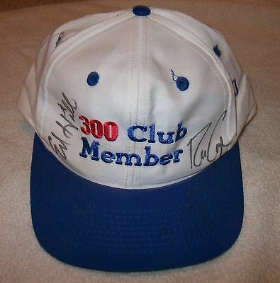 Nhra Autographed Hat - Eddie Hill / Scotty Cannon / Ron Capps