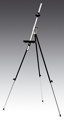 Quality Plein Air Folding Metal Easel, ,with adjustable pole NEW (Made in Italy