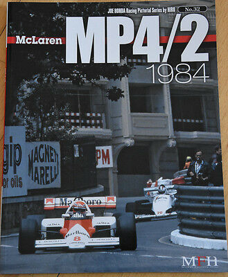 Book no.32, McLaren MP4/2 1984 von Modelfactory Hiro