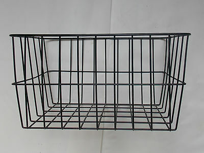 "Wire Bike Basket 16"" Front or Rear Inc Straps Quality & Cheap New Cycle Items"
