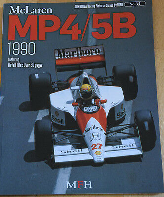 Book no.34, McLaren MP4/5B 1990 von Modelfactory Hiro